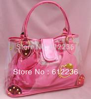 Hello Kitty Handbags Totes New  2013 Ladies shopping bag Fashion Hello Kitty Cute Christmas gift China Wholesale Hot sale