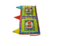 Buddhism - Change bad luck to good luck Big Size 126cm * 72cm  Prayer flag