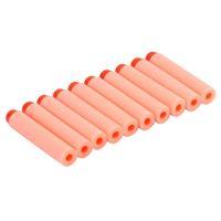 10 pcs Nerf Toy Gun Bullets Eva Soft bullets Darts Blaster Flexible Orange DropShipping
