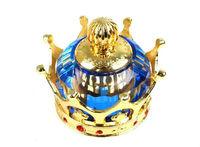 FREE SHIPPING 1 PCS Blue Crystal Crown Seat Car Perfume Air fresheners #23744