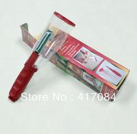 100pcs/lot no mess storage peeler vegetable fruit carrot peeler/cucumber twister wholesale retail AS seen on tv