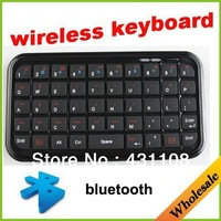 Wholesale free shipping  port with bluetooth and USB good price long distance Mini Bluetooth wireless Keyboard for any  computer