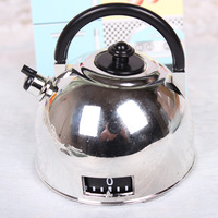 Kitchen Cooking Mechanical Timer 60 Minutes Alarm Kettle Shape Boxed For Home Party Wedding Baby Shower Favor