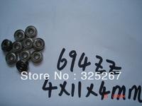 694ZZ motor bearings  ABEC-5  4*11*4  10PCS   694 / 694ZZ
