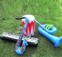 free shipping (4 sets/lot) outdoor kids toys blow up toys inflatable instruments
