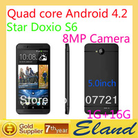 In stock phone S6 GPS WIFI 8MP Camera Star Dixio z S6 Android OS 3G Unlocked Smartphone free shipping