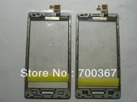 30pcs/lot Guaranteed 100% brand new touch screen with frame for LGL9 P760+DHL shipping