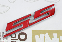 Auto car Red Metal for SS Camaro Emblem Decal Badge Sticker