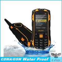 "IP67 Waterproof Dustproof Runbo X1 Rugged Mobile Phone With 2.0"" QVGA Display Single SIM Card PTT Camera Bluetooth FM G-Sensor"