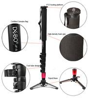 2014 Gopro Monopod Tripode New Alloy Camera Camcorder Unipod Monopod 3 Legs Base with Flip Lock for Camera/ Tripod for 30200193