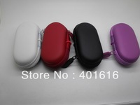 Free shipping New 10PCS/Lot soft earphone receive bag Protection box Headset case for earphone