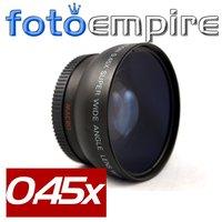 58mm 0.45x Wide Angle Lens & Macro Conversion Lens 0.45x 58 for 58 mm Canon EOS 350D/ 400D/ 450D/ 500D/ 1000D/ 550D/ 600D/ 1100D