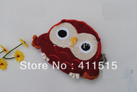2014 - New style children Kids Handmade Crochet Cute Owl Design Handbag Purse Bag cute coin bags wallet 20pcs