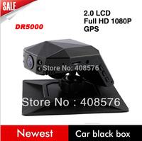 "OK-DR5000 2"" LCD HD 1080P 30FPS Novatek Car DVR Recorder With IR Night vision G-senor Car Air Freshener  Free Shipping"
