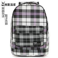 School bag backpack female fashion preppy style plaid school bag backpack travel bag