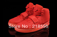 Brand Air Yeezy 2 Retro Kanye Basketball Shoes Skateboarding West Mens Athletic Shoes lighted bottom Sports Shoes Free shipping