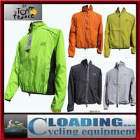 Tour de France200g full sleeve polyster cycling sports wind rain coat jacket/breathable windproof waterproof ridingwear clothing