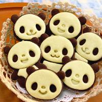 Cartoon Panda cookies cutter biscuit mould set baking tools cutter tools cake decoration 12pcs/set bakeware mold free shipping