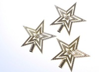 2013 New Christmas Lovely Hollow Design Three-piece Star Gold SD12110103