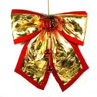 Christmas decoration christmas fabric bow christmas tree decoration metope decoration supplies