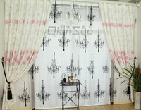 the blind new 2013 design curtain fabric for living room home decoration print flower curtains fabric upholstery curtain clothes