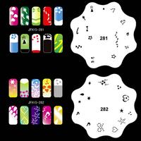 300 Design Airbrush Nail Art STENCIL DESIGNS 20 Heart Template Sheets Kit Paint