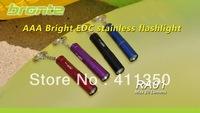 wholesale freeshipping  Super Mini bronte RA01 CREE R5 80 Lumen LED Flashlight torch random color