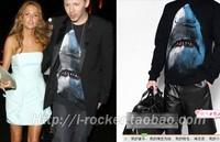 2013 Hitz unisex BIGBANG Quan Zhilong shark long-sleeved sweater