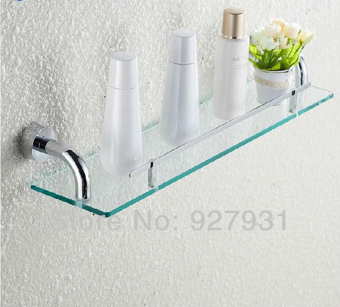 moderne single tier badkamer glasplaat chromen afwerking badkamer