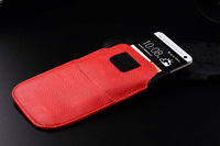HKP ePacket Free Shipping with credit card bag Leather Pouch phone bags cases for haier w718 Cell Phone Accessories