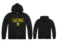 Freeshipping Last kings LK  Hoodies most popular men's classic  hoody Sweatshirts without MOQ red grey black blue