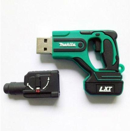 Wholesale Hot sale Fashion Cartoon Cheap plastic Gun model 2-32GB USB 2.0 Flash Memory Stick Drive Thumb/Car/Pen Gift U5(China (Mainland))