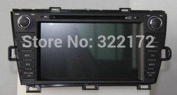 8 Inch Car Radio/Audio/DVD Player/GPS/BT/TV/iPod for TOYOTA PRIUS  2009~2013 Right Driving+Free Shipping