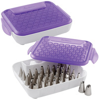 Wilton cake tools decorating mouth box -billed