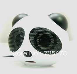 Mini Portable Cartoon Cute Panda speaker(China (Mainland))