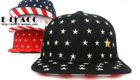 News women american stars partterned hip hop hat  baseball snapback ball cap