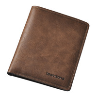 Teemzone 2013 male wallet first layer of cowhide male wallet short design wallet