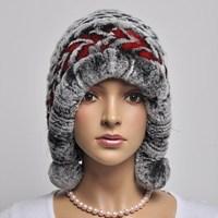 13 winter fur ear protector cap rex rabbit hair cap opening thermal millinery