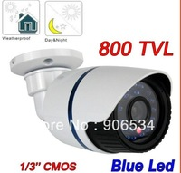 Best price wholesale! 24 hours monitoring 1/3 Cmos 800TVL CCTV Camera Waterproof Bullet camera with Axis bracket