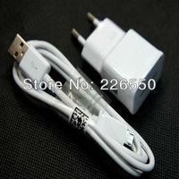 20pcs/lot, 2A EU Plug Wall Charger + MICRO USB Cable For Samsung Galaxy S4 I9500/Galaxy S3 I9300 Galaxy Note2 7100