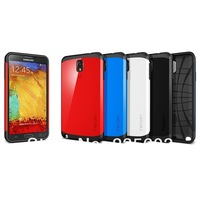 In Stock 20pcs/lot SLIM ARMOR SPIGEN SGP Case for Samsung Galaxy Note 3 N9000 with Retail Package Free Shipping