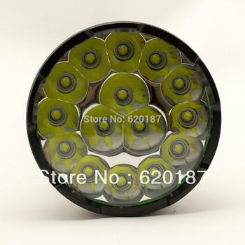 15 X CREE XML T6 LED Flashlight 17200 Lumen Super Bright 18650 or 26650 Battery 5 Modes Waterproof Flashlight Travel  Torch