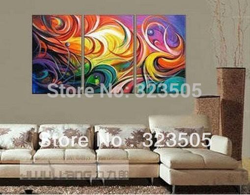 Online kopen wholesale schilderij huiskamer blauw uit china schilderij huiskamer blauw - Deco originele muur ...