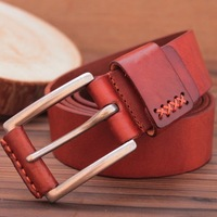 Premium quality goods 100% genuine leather The new cow leather belt leather men men unique pin buckle belt belt leather belt