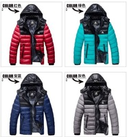 Hot! 2013 New The latest design of autumn and winter fashion leisure, men's brand down jacket, coat, jacket, ex-factory price
