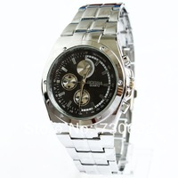 2013 Hot Sale New Watches Men Luxury Brand Gold Wristwatches Free Shipping Wholesale Dropship