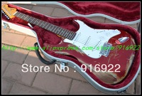 2013 now Fendr guitar best Musical Instruments Limited Edition vintage old aged type free shipping One neck (No Scarf)