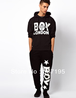 Boy london man&woman's fashion brand design british style letter casual sports pants plus velvet trousers active hiphop pants