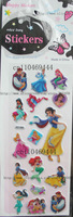 VFree Shipping ! 20 Sheets Princess Kids Child Children Stickers Popular Cartoon Sticker Wholesale/ Kids DIY Toy /SO-006