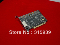 New arrival 8-Channel PCI telephone Voice Recorder Card with free PC software USB key